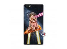 Coque Huawei P8 Lite Cat Pizza Translu