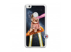 Coque Huawei P9 Lite Cat Pizza Translu