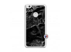 Coque Huawei P9 Lite Black Marble Translu