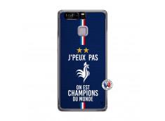 Coque Huawei P9 Je Peux Pas On Est Les Champions Du Monde Translu