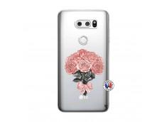 Coque Lg V30 Bouquet de Roses
