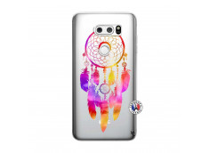 Coque Lg V30 Dreamcatcher Rainbow Feathers