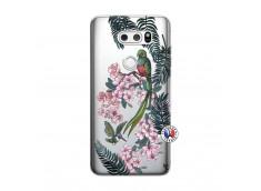 Coque Lg V30 Flower Birds