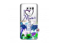 Coque Lg V30 I Love Miami