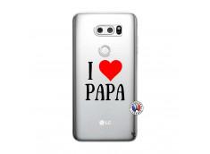 Coque Lg V30 I Love Papa