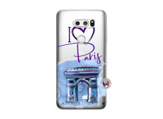 Coque Lg V30 I Love Paris Arc Triomphe
