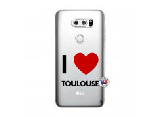 Coque Lg V30 I Love Toulouse