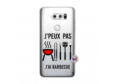 Coque Lg V30 Je Peux Pas J Ai Barbecue