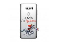 Coque Lg V30 Je Peux Pas J Ai Equitation