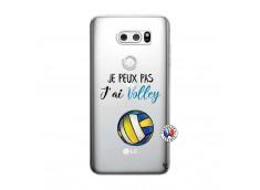 Coque Lg V30 Je Peux Pas J Ai Volley