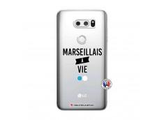 Coque Lg V30 Marseillais à Vie
