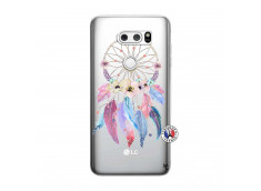 Coque Lg V30 Multicolor Watercolor Floral Dreamcatcher
