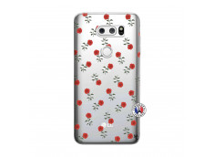 Coque Lg V30 Rose Pattern