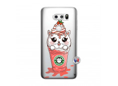 Coque Lg V30 Catpucino Ice Cream