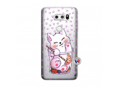 Coque Lg V30 Smoothie Cat