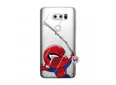 Coque Lg V30 Spider Impact