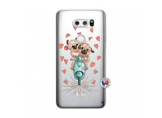 Coque Lg V30 Puppies Love