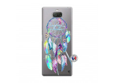 Coque Sony Xperia 10 Plus Blue Painted Dreamcatcher