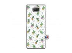 Coque Sony Xperia 10 Plus Le Monde Entier est un Cactus Translu
