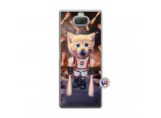 Coque Sony Xperia 10 Plus Cat Nasa Translu