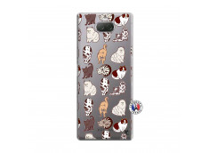 Coque Sony Xperia 10 Plus Cat Pattern