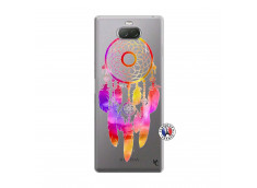 Coque Sony Xperia 10 Plus Dreamcatcher Rainbow Feathers