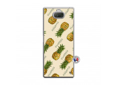 Coque Sony Xperia 10 Plus Sorbet Ananas Translu