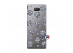 Coque Sony Xperia 10 Plus Petits Elephants