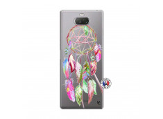 Coque Sony Xperia 10 Plus Pink Painted Dreamcatcher