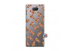 Coque Sony Xperia 10 Plus Petits Poissons Clown