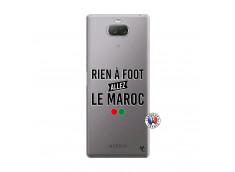 Coque Sony Xperia 10 Plus Rien A Foot Allez Le Maroc