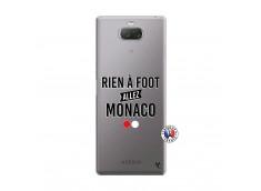 Coque Sony Xperia 10 Plus Rien A Foot Allez Monaco