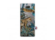 Coque Sony Xperia 10 Plus Leopard Jungle