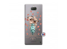 Coque Sony Xperia 10 Plus Puppies Love