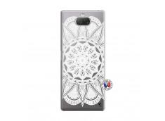 Coque Sony Xperia 10 Plus White Mandala