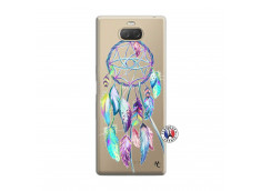 Coque Sony Xperia 10 Blue Painted Dreamcatcher