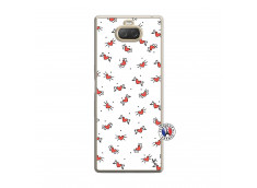 Coque Sony Xperia 10 Cartoon Heart Translu