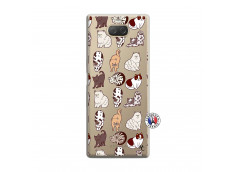 Coque Sony Xperia 10 Cat Pattern