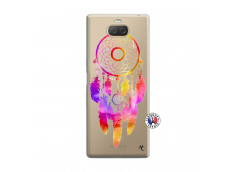 Coque Sony Xperia 10 Dreamcatcher Rainbow Feathers