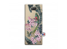 Coque Sony Xperia 10 Flower Birds