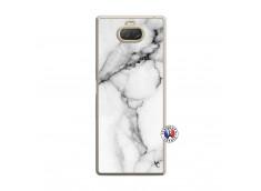 Coque Sony Xperia 10 White Marble Translu