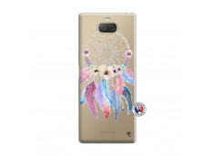 Coque Sony Xperia 10 Multicolor Watercolor Floral Dreamcatcher