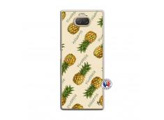 Coque Sony Xperia 10 Sorbet Ananas Translu