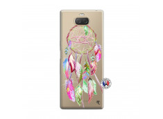 Coque Sony Xperia 10 Pink Painted Dreamcatcher