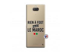 Coque Sony Xperia 10 Rien A Foot Allez Le Maroc