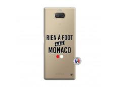 Coque Sony Xperia 10 Rien A Foot Allez Monaco