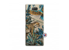 Coque Sony Xperia 10 Leopard Jungle