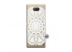 Coque Sony Xperia 10 White Mandala