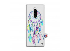 Coque Sony Xperia 1 Blue Painted Dreamcatcher