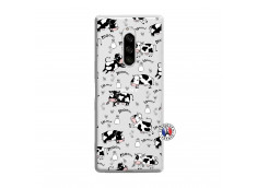 Coque Sony Xperia 1 Cow Pattern